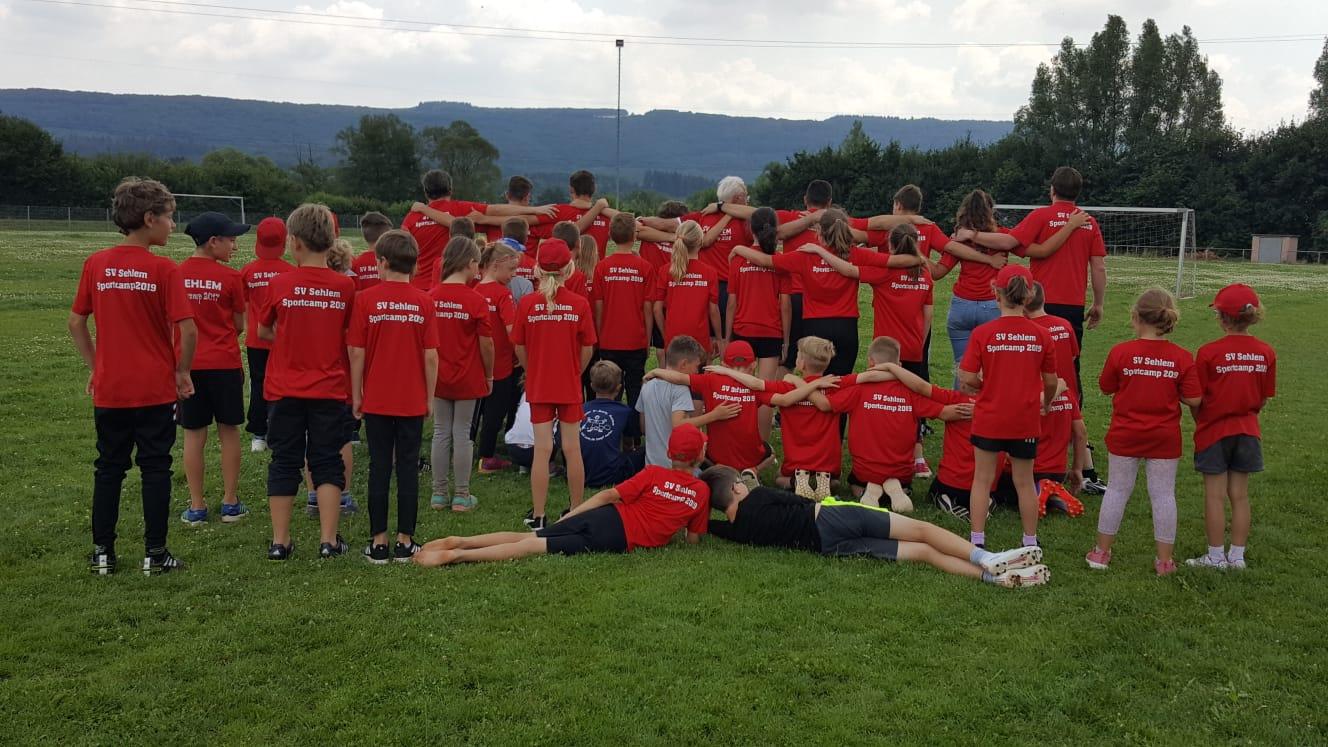 Gruppe Jugendsportcamp SV Sehlem